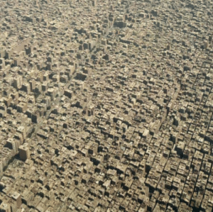 Guess, Egypt, and Cairo: They say, things look better from above. Guess what? you are wrong. Cairo, Egypt!