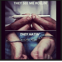 rollins: THEY SEE ME ROLLIN'  THEY HATIN""