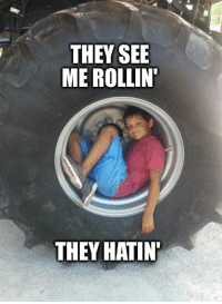"""Dexter is 10-years-old and has stage 4 Neuroblastoma. He recently posted his bucket list and Number 34 is """"Become a Meme/Internet Famous"""". We can make this happen - easy!: THEY SEE  ME ROLLIN  THEY HATIN Dexter is 10-years-old and has stage 4 Neuroblastoma. He recently posted his bucket list and Number 34 is """"Become a Meme/Internet Famous"""". We can make this happen - easy!"""