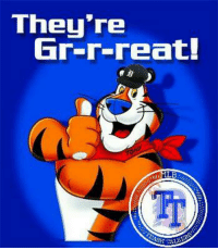 Detroit Tigers....frosted flakes Tony the tiger approved....they're grrreat  #RoarOfTheTiger: They're  Gr-r-reat!  ML  RASH  ALTOS Detroit Tigers....frosted flakes Tony the tiger approved....they're grrreat  #RoarOfTheTiger