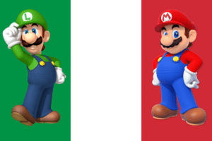 THEY'RE ITALIAN AND THOSE ARE THEIR COLORS, am I just stupid because I realized it only now or did I uncover some eldritch truth: THEY'RE ITALIAN AND THOSE ARE THEIR COLORS, am I just stupid because I realized it only now or did I uncover some eldritch truth