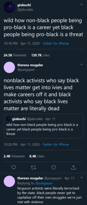 theysaiditwillbefun:   the black activists who are actually out on the front lines organizing for BLM are never met with the same respect / celebrity as people who only talk the talk online. It's appalling that their deaths (most ruled suicides or undetermined) go unnoticed even tho happens so often    The US government has this history, home and abroad, of terrorizing and murdering activists with black ops.    : theysaiditwillbefun:   the black activists who are actually out on the front lines organizing for BLM are never met with the same respect / celebrity as people who only talk the talk online. It's appalling that their deaths (most ruled suicides or undetermined) go unnoticed even tho happens so often    The US government has this history, home and abroad, of terrorizing and murdering activists with black ops.