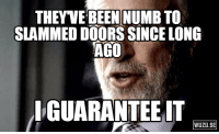 To the 'insanity wolf' who slammed a door on some Jehovah's Witnesses: THEYVE BEEN NUMB TO  SLAMMED DOORS SINCE LONG  AGO  IGUARANTEEIT  WUZU.SE To the 'insanity wolf' who slammed a door on some Jehovah's Witnesses
