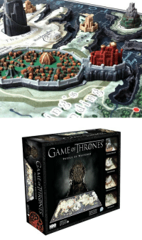 """Game of Thrones, Tumblr, and Blog: Thg  1   GAME oF HRONES  PUZZLE OF WESTEROS  CASTuE CK  HARRENHI  誘:1  靃*  AGES 13 <p><a href=""""https://novelty-gift-ideas.tumblr.com/post/165370928968/game-of-thrones-3d-map-puzzle"""" class=""""tumblr_blog"""">novelty-gift-ideas</a>:</p><blockquote><p><b><a href=""""https://novelty-gift-ideas.com/game-of-thrones-3d-map-puzzle/"""">  Game of Thrones 3D Map Puzzle  </a></b><br/></p></blockquote>"""