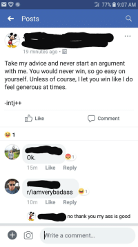 I Let You Win