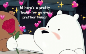 Wholesome Love Memes - CLICK 4 MORE MEMES (pro_raze) | Dark humor ...: thi here's a pretty  flower for an even  prettier 'human  @wholesome heart memes Wholesome Love Memes - CLICK 4 MORE MEMES (pro_raze) | Dark humor ...