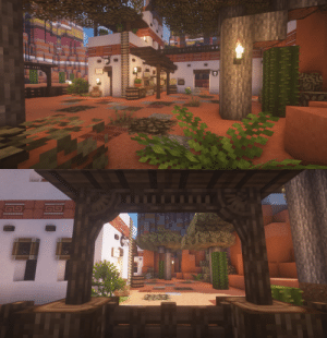 thicccbee: 🌵🐎My little ranch in the mesa town of Terra Valley on  @bittercraftmc : thicccbee: 🌵🐎My little ranch in the mesa town of Terra Valley on  @bittercraftmc