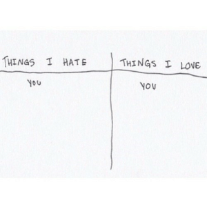 https://iglovequotes.net/: THINGS I LOVE  THINGS I HATE  you  YOU https://iglovequotes.net/