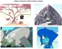 This is true: things i wanna be inside in steven universe This is true