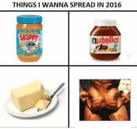 Nutella: THINGS I WANNA SPREAD IN 2016  nutella