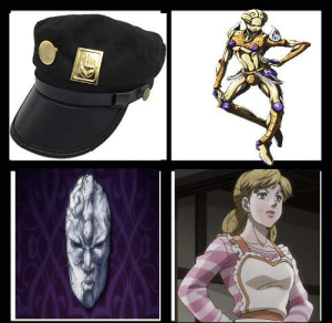 Things i want to own in jojo's bizarre adventure: Things i want to own in jojo's bizarre adventure