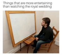 "<p>In case you were looking for something to do while the royal wedding is on via /r/memes <a href=""https://ift.tt/2k40ANH"">https://ift.tt/2k40ANH</a></p>: Things that are more entertaining  than watching the royal wedding <p>In case you were looking for something to do while the royal wedding is on via /r/memes <a href=""https://ift.tt/2k40ANH"">https://ift.tt/2k40ANH</a></p>"