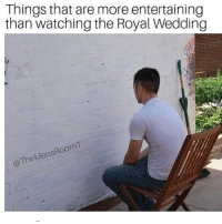 Memes, Wedding, and 🤖: Things that are more entertaining  than watching the Royal Wedding  Room  heMens