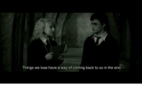 Harry Potter and The Order of the Phoenix. ღ: Things we lose have a way of coming back to us in the end. Harry Potter and The Order of the Phoenix. ღ