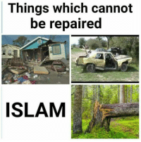Islam,  Things, and Cannot: Things which cannot  be repaired  ISLAM