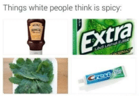 Spicy: Things white people think is spicy  Extra  HEINZ