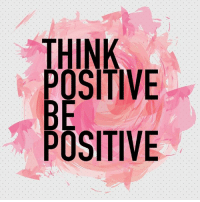 Memes, 🤖, and Think: THINK  POSITIVE  BE  POSITIVE