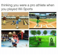 Memes, Mike Tyson, and Sports: thinking you were a pro athlete when  you played Wii Sports Feeling like Mike Tyson and Tiger Woods in my living room