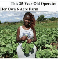 Wow, what's mad, is I am currently buying 6 acres of land in DR Congo for the children. How do I speak to nakkujustine I need some organic farming advice using the traditional African farming methods :) famfoods chakabars Big up all the Kenyans 🇰🇪: This 25-Year-old Operates  Her own 6 Acre Farm Wow, what's mad, is I am currently buying 6 acres of land in DR Congo for the children. How do I speak to nakkujustine I need some organic farming advice using the traditional African farming methods :) famfoods chakabars Big up all the Kenyans 🇰🇪
