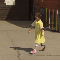 Friends, Girl, and Http: This 7 year old girl showing her prosthetic leg to her friends for the first time via /r/wholesomememes http://bit.ly/2TqIEg9