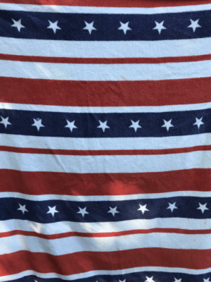 Confederate Flag, American, and American Flag: This American flag towel looks like a deformed confederate flag