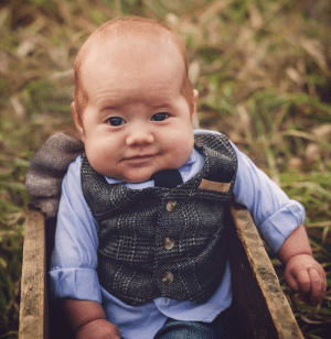 Pint, Baby, and This: This baby looks like he needs a Pint