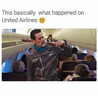 No mercy for Glenn 💀💀 • ➫➫ Follow @savagememesss for more posts daily: This basically what happened on  United Airlines  United  Airlines No mercy for Glenn 💀💀 • ➫➫ Follow @savagememesss for more posts daily