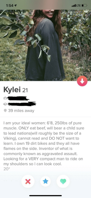 This bio is a ride start to finish: This bio is a ride start to finish