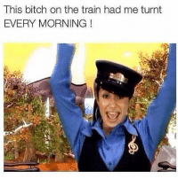 cho cho soul train was lowkey lit: This bitch on the train had me turnt  EVERY MORNING! cho cho soul train was lowkey lit