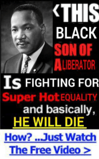 At least we do OC, enjoy more OC. -McNuggz: THIS  BLACK  SON OF  ALBERATOR  IS FIGHTING FOR  Super Hot EQUALITY  and basically,  HE WILL DIE  How? Just Watch  The Free Video At least we do OC, enjoy more OC. -McNuggz