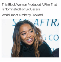 Memes, Oscars, and 🤖: This Black Woman Produced A Film That  Is Nominated For Six Oscars  World, meet Kimberly Steward