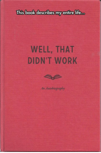 Well That Didnt Work: This book describes my entire life.co  WELL, THAT  DIDN'T WORK  An Autobiography