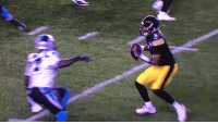 Children, Sports, and Panthers: This brutally violent act by the Panthers on Steelers QB Josh Dobbs drew a roughing the passer penalty. There's simply no room in the sport for such gruesome violence. Please do not allow small children to watch this video. https://t.co/5GGZUoKJRL