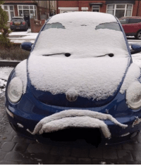 Car, This, and Amused: This car is not amused