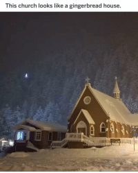 Church, Funny, and House: This church looks like a gingerbread house Looks delicious