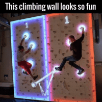 I need this wall game in my life! 🙌🙌  by Augmented Climbing Wall: ThIS Climbing wall looks SO fun I need this wall game in my life! 🙌🙌  by Augmented Climbing Wall