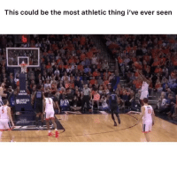 Wild 👉🏽(via: barstoolhubbs-twitter): This could be the most athletic thing i've ever seen  UVA  ORTHO  BANK Wild 👉🏽(via: barstoolhubbs-twitter)