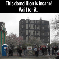 Memes, 🤖, and Rails: This demolition is insanel  Wait for it  YouTube/Alebbio Rail ummmmmm wow