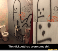 Meme, Shit, and Old: This dickbutt has seen some shit  ifunny.ce <p>An old meme</p>
