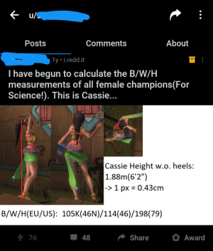 This dude calculating the Bust/Waist/Hip Measurements for a video game characters: This dude calculating the Bust/Waist/Hip Measurements for a video game characters