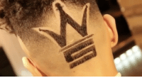 This dude got the WORLDSTAR logo on the back of his head! 💯🔥 @barberlele23 WSHH: This dude got the WORLDSTAR logo on the back of his head! 💯🔥 @barberlele23 WSHH