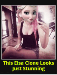 Can't sleep again and have to be up in 3 hours lol it's 4:44 am and im so tired lol: This Elsa Clone Looks  Just stunning Can't sleep again and have to be up in 3 hours lol it's 4:44 am and im so tired lol
