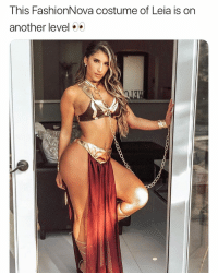 Funny, Halloween, and Another: This FashionNova costume of Leia is on  another level What yall doing on Halloween? @FashionNova