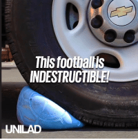 This completely indestructable football gives kids around the world a chance to play in even the harshest conditions 🙌⚽: This footbalis  INDESTRUCTIBLE  UNILAD This completely indestructable football gives kids around the world a chance to play in even the harshest conditions 🙌⚽