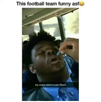 Lmao classic 😂: This football team funny asf  my mans didn't even flinch Lmao classic 😂