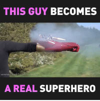 Funny, Superhero, and Real: THIS GUY BECOMES  www.theHacksmith.ca  A REAL SUPERHERO
