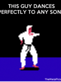 Song, Fit, and Play: THIS GUY DANCES  ERFECTLY TO ANY SON  TheMetaPict This actually works, play any song and it seems to fit the rhyme
