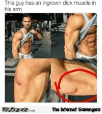 <p>Chucklesome memes  Our TGIF collection of funny pics  PMSLweb </p>: This guy has an ingrown dick muscle in  his arm  The Intemet Scavengers <p>Chucklesome memes  Our TGIF collection of funny pics  PMSLweb </p>