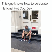 Chicago, what did @heinzketchup_us ever do to you? Time to kiss and make up whatsonyourdog ad: This guy knows how to celebrate  National Hot Dog Day  田 Chicago, what did @heinzketchup_us ever do to you? Time to kiss and make up whatsonyourdog ad
