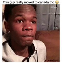 He really in Edmonton 😂😂 👉🏾(via: @dooleyfunny): This guy really moved to canada tho  IG:@Daquan He really in Edmonton 😂😂 👉🏾(via: @dooleyfunny)